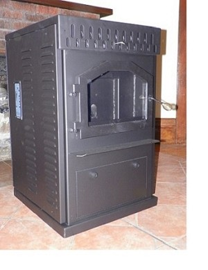 ECONO SAVER MULTI-FUEL STOVE, 40,000 BTU/Hr, Corn Wood Pellets