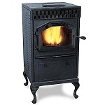 Discount Sale - Antique Technocrat Multifuel Stove, 40,000 BTU Corn Wood Pellets