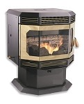 BRECKWELL 2700 BAY WINDOW Wood Pellet Stove, Insert, Furnace