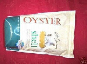 OYSTER SHELL CRUSH for CORN PELLET STOVE FURNACE, NEW