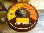 FLUE GAS THERMOMETER